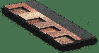 Покрытие кровли – гибкая черепица из коллекции Docke Dragon