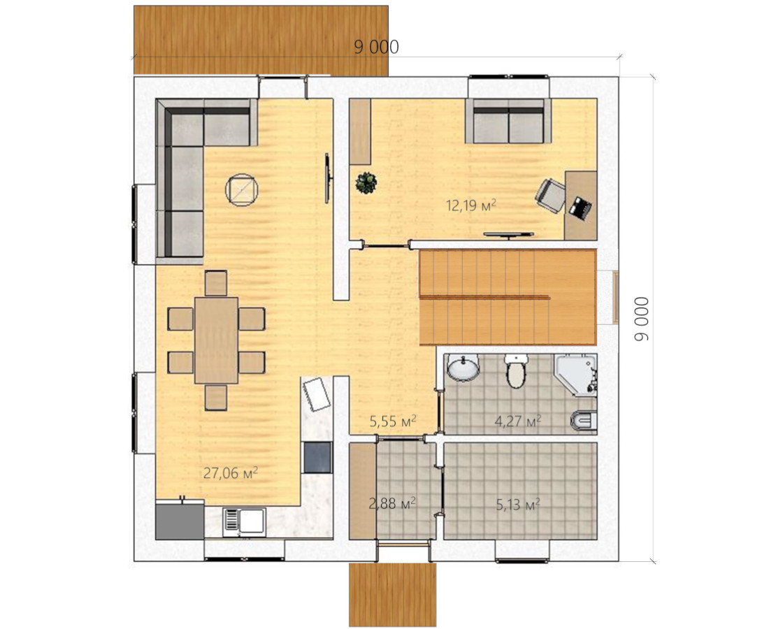 Планировка <span>«FAMILY HOUSE»</span>